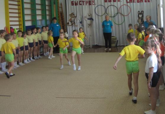 Сценарии олимпийских игр в детском саду