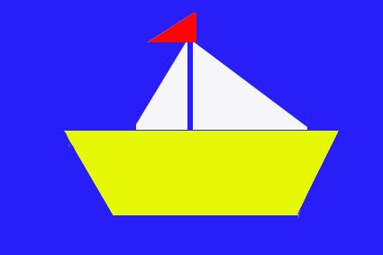 Аппликация для средней группы кораблик в