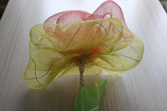 Поделки из упаковочной сетки для цветов 88