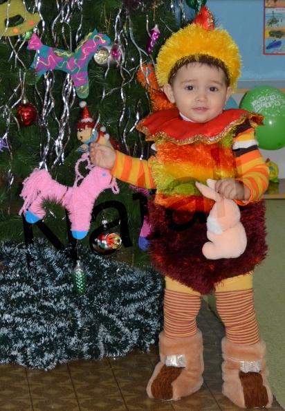 Вязаный новогодний костюм петушка для мальчика в возрасте ... - photo#24