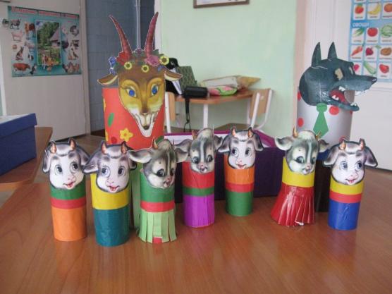Театр на стаканчиках в детском саду своими руками