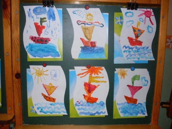 Лёгкая открытка для детей