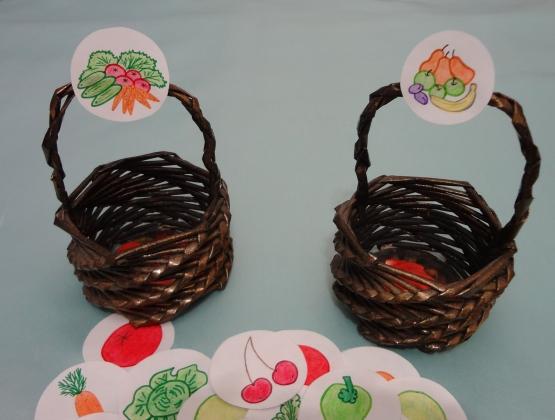 Корзины с овощами и фруктами картинки 4