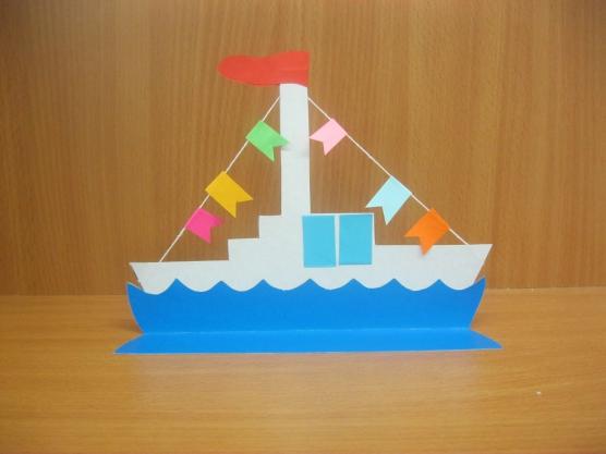 Поделка кораблик детский сад 49