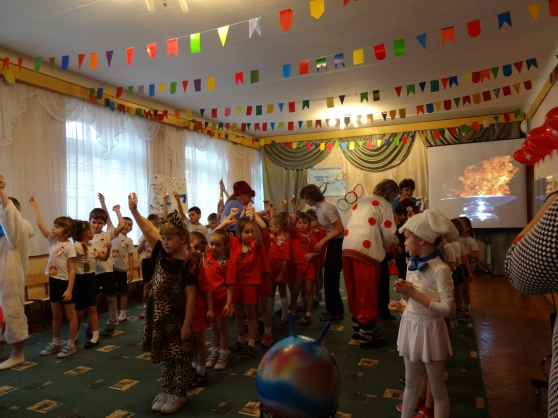 Малые олимпийские игры в детском саду