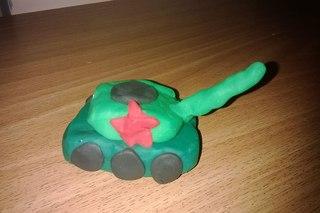Конспект НОД по продуктивным видам деятельности «Лепка танка» в подготовительной к школе группе