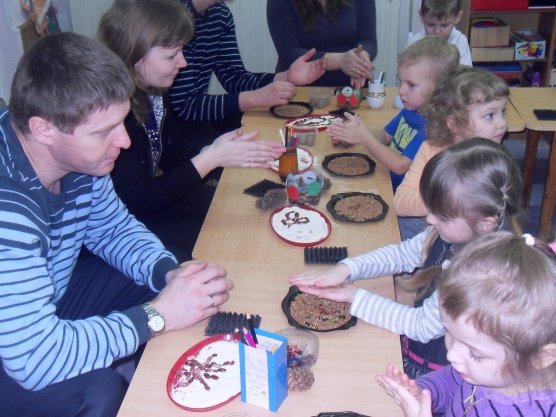 Мастер класс для родителей в детском саду