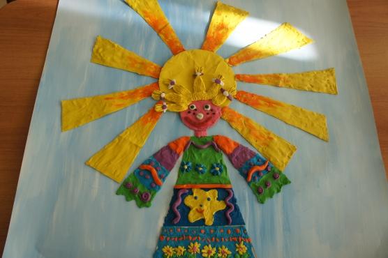 Поделка из камушек в детский сад