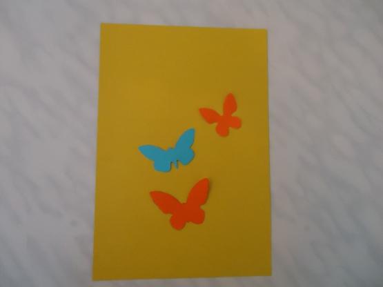 Днем, конспект занятия аппликация поздравительная открытка