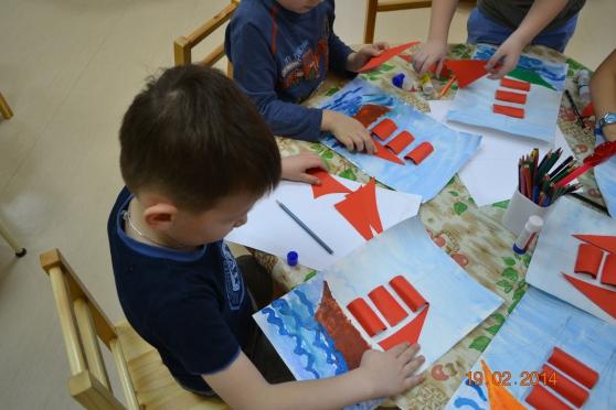 День папы в детском саду поделки