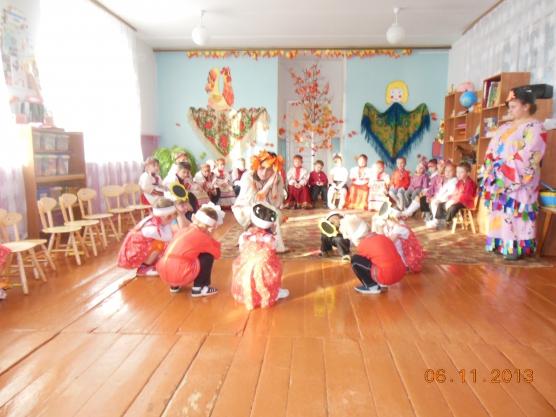 знакомство с русской культурой в детском саду