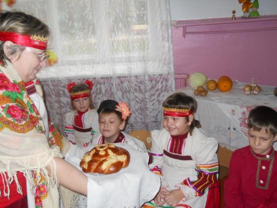 знакомство с народной культурой в детском саду