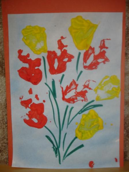 Открытка к 8 марта рисование в старшей группе, картинки пса