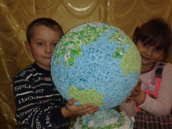 Планета в наших руках поделка
