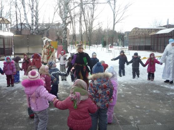 знакомство детей с дедом морозом в детском саду