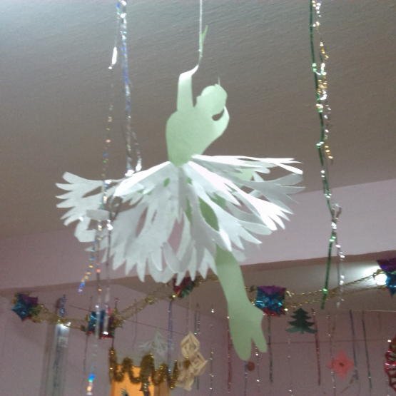«Новогоднее настроение». Оформление детского сада