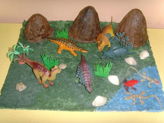 Как сделать своими руками из пластилина динозавра