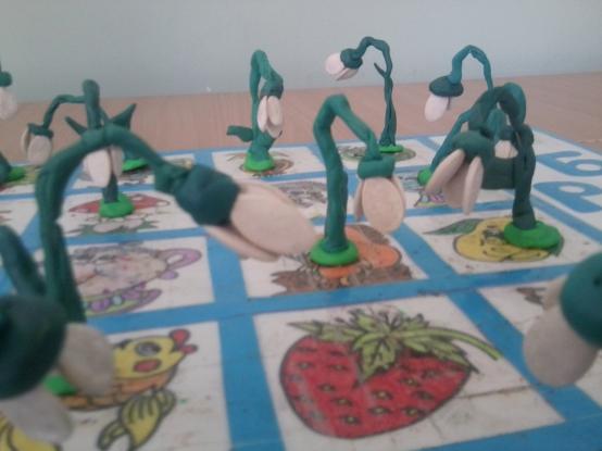 Подснежники в детском саду