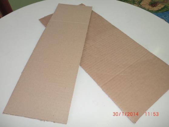 Мастер-класс по работе с гофрированным картоном