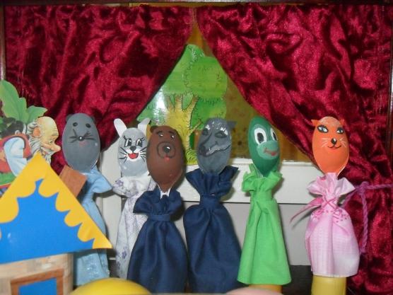 Виды детских театров своими руками