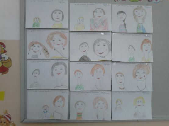 Отчёт о проделанной работе с детьми в преддверии праздника 8 Марта
