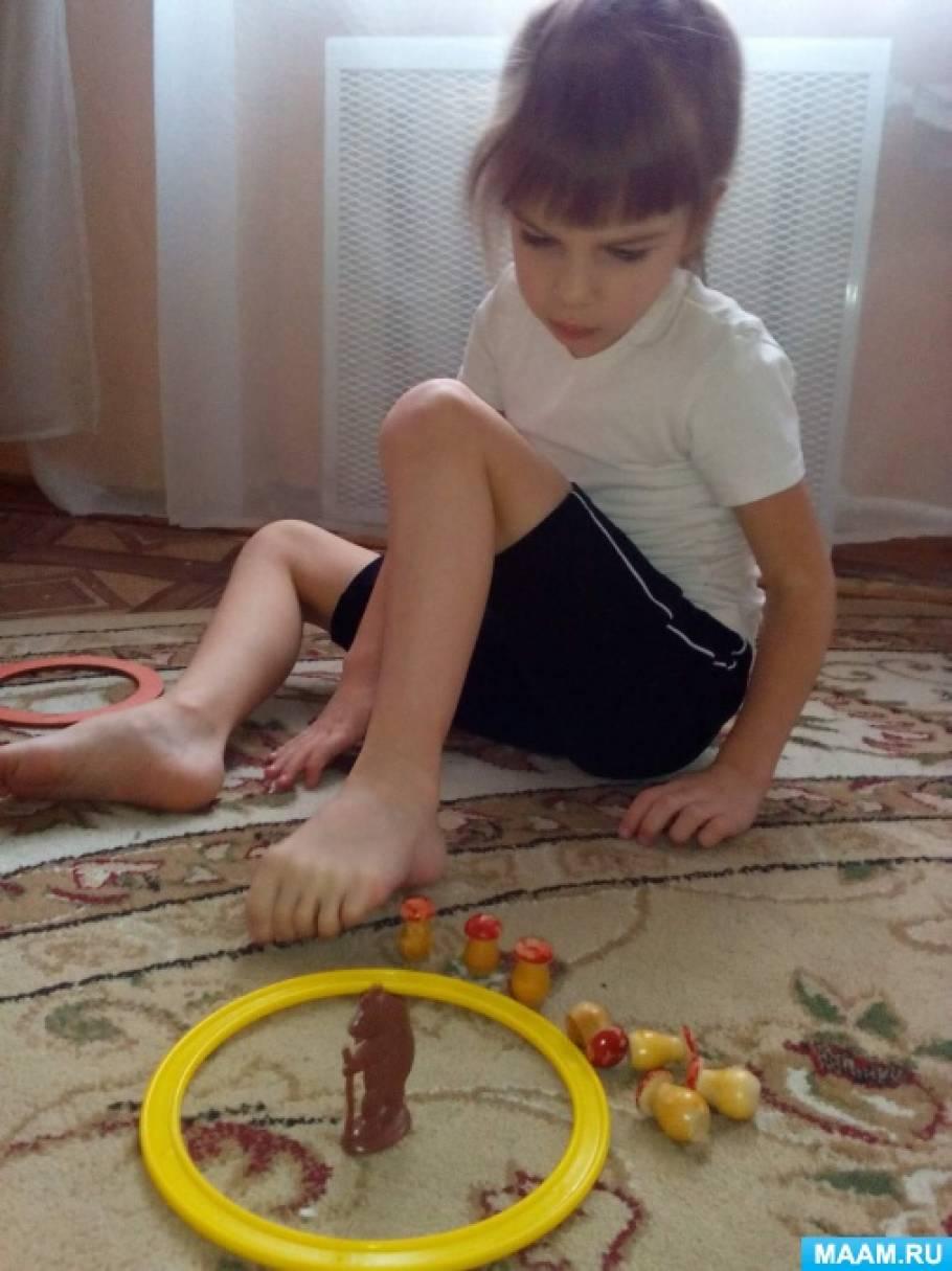 Игры и упражнения на профилактику плоскостопия и нарушений осанки с детьми раннего возраста