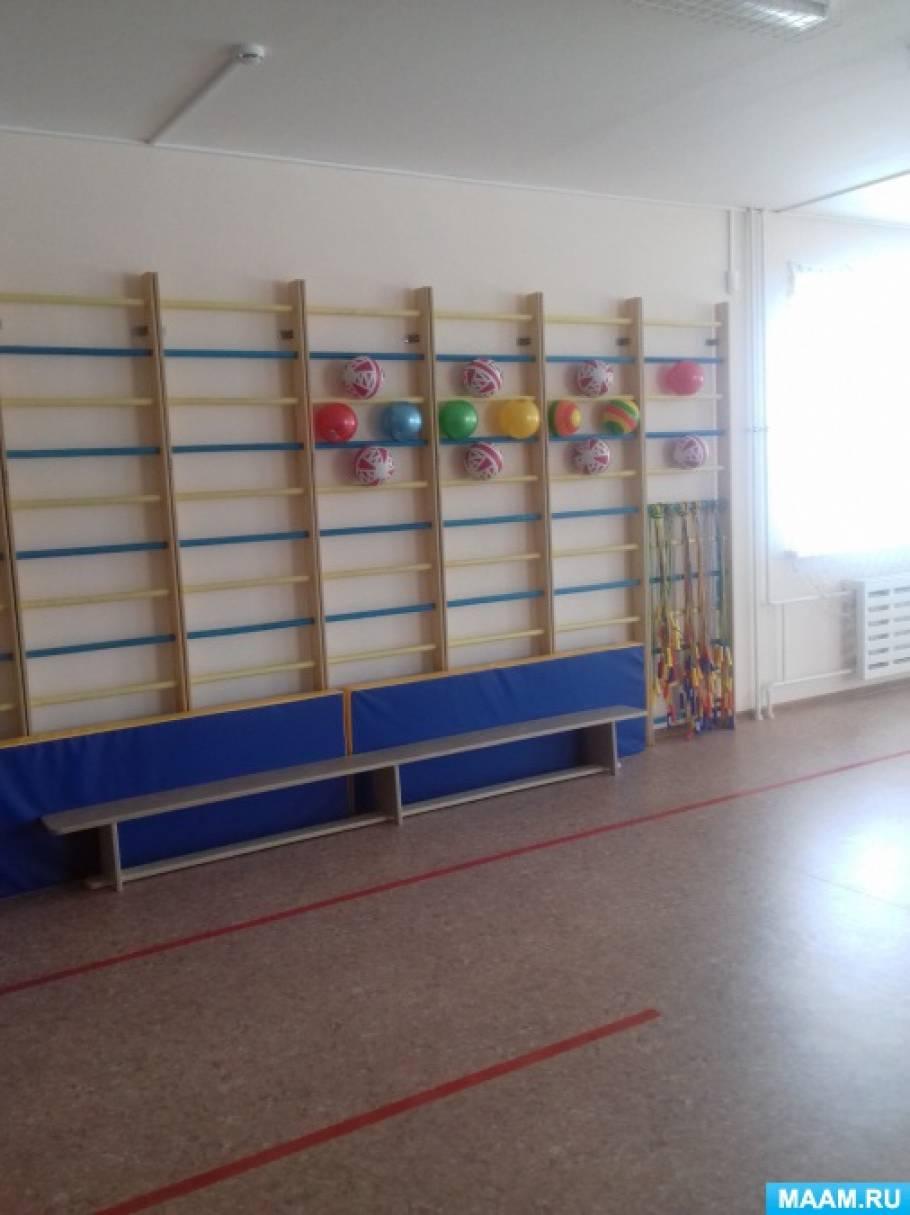 Оборудование спортзала в детском саду по ФГОС