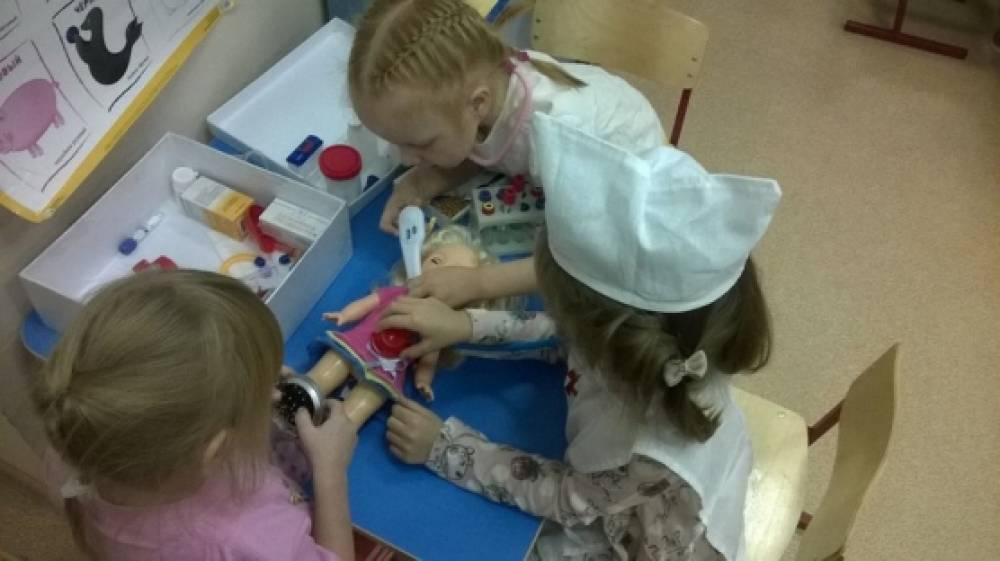 знакомство детей старшей группы с профессией врача