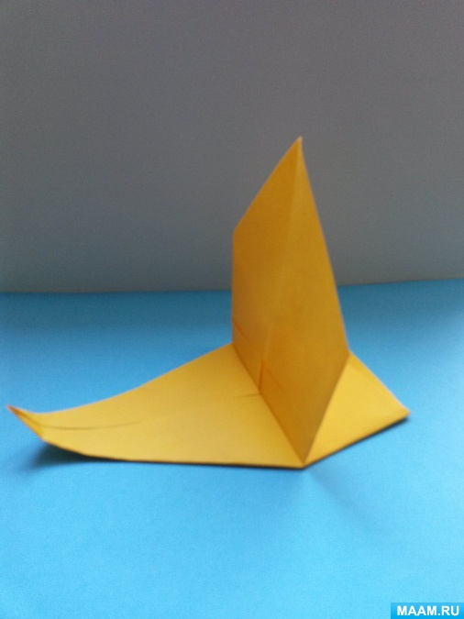 Конспект НОД по художественному конструированию из бумаги в старшей группе «Ветер по морю гуляет. Кораблик с парусом»