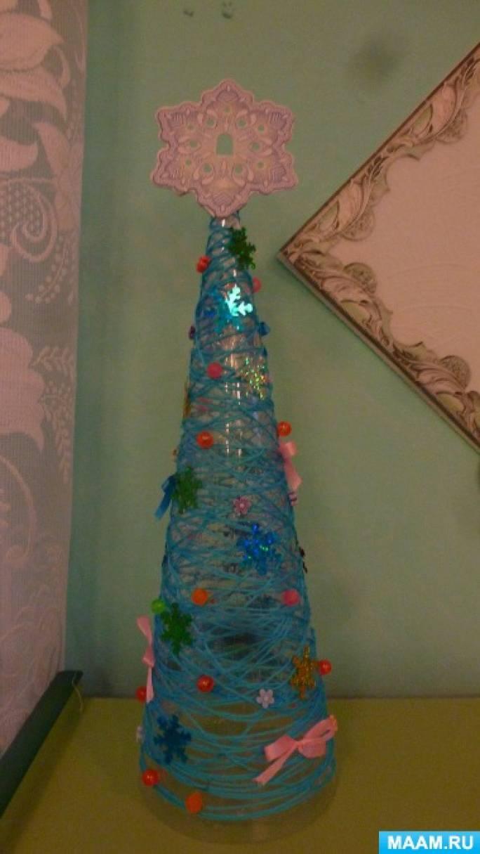 Фотоотчёт о конкурсе в старшей группе «Новогодняя ёлочка»