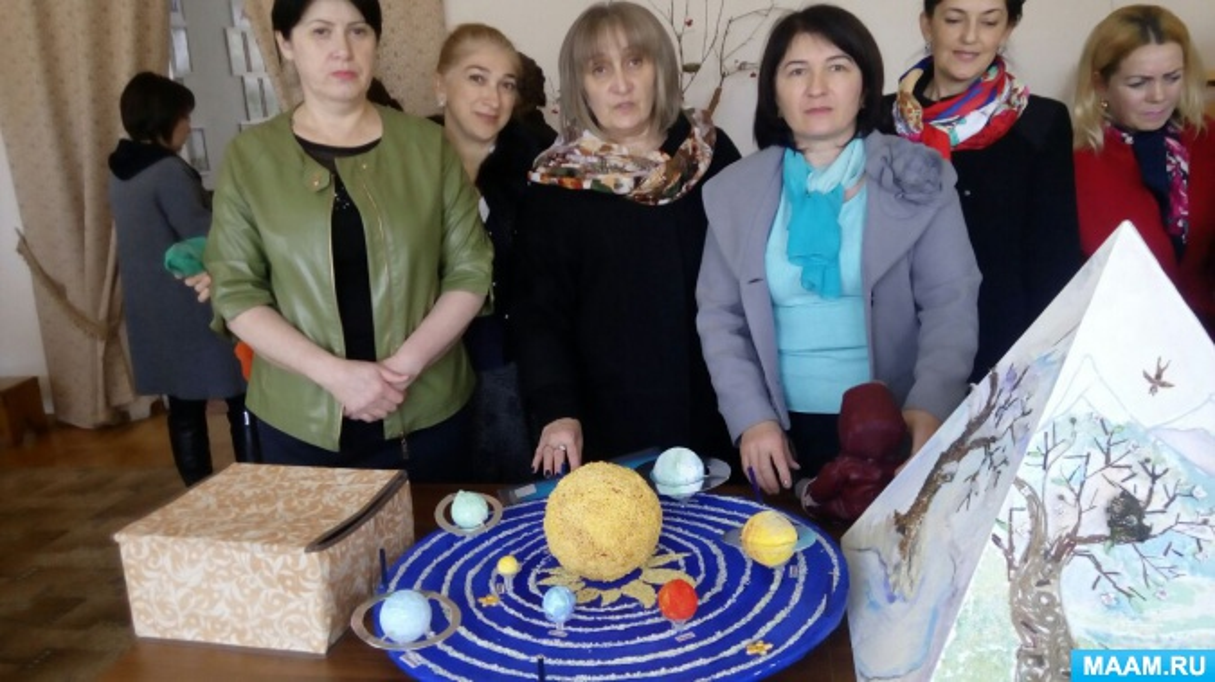 Макеты к районному конкурсу по охране экологии «Нам и внукам»