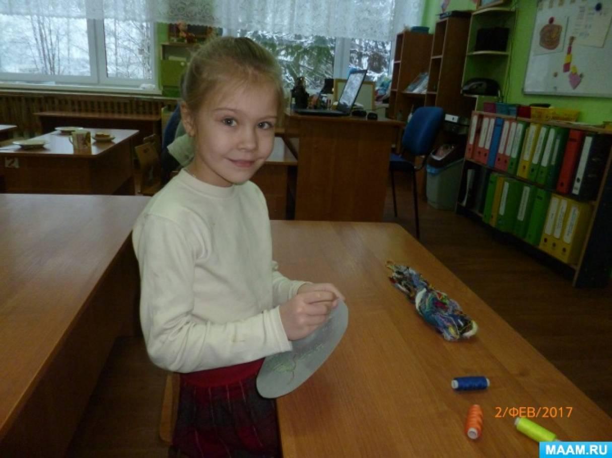 Развитие и воспитание старших дошкольников в процессе обучения вышивке