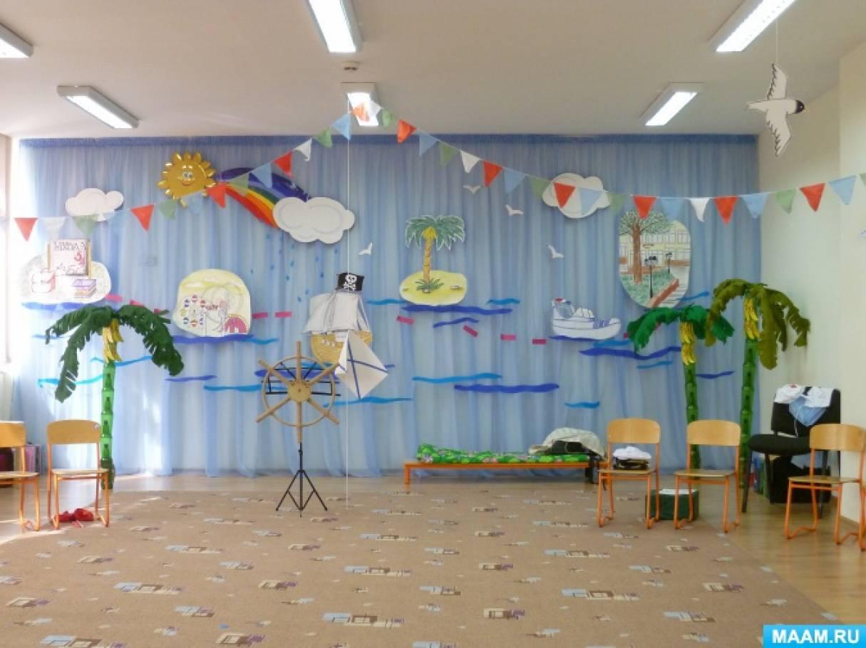 Сценарий выпускного праздника «Кораблик детства»