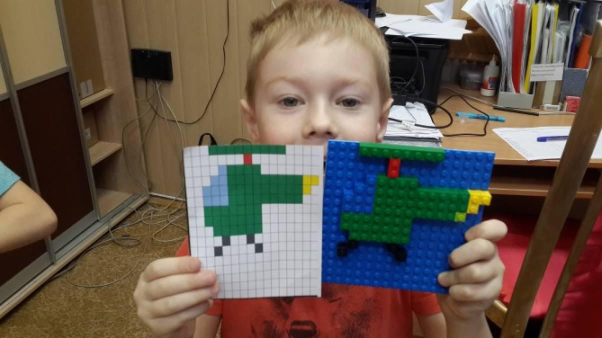 Схемы для лего-мозаики