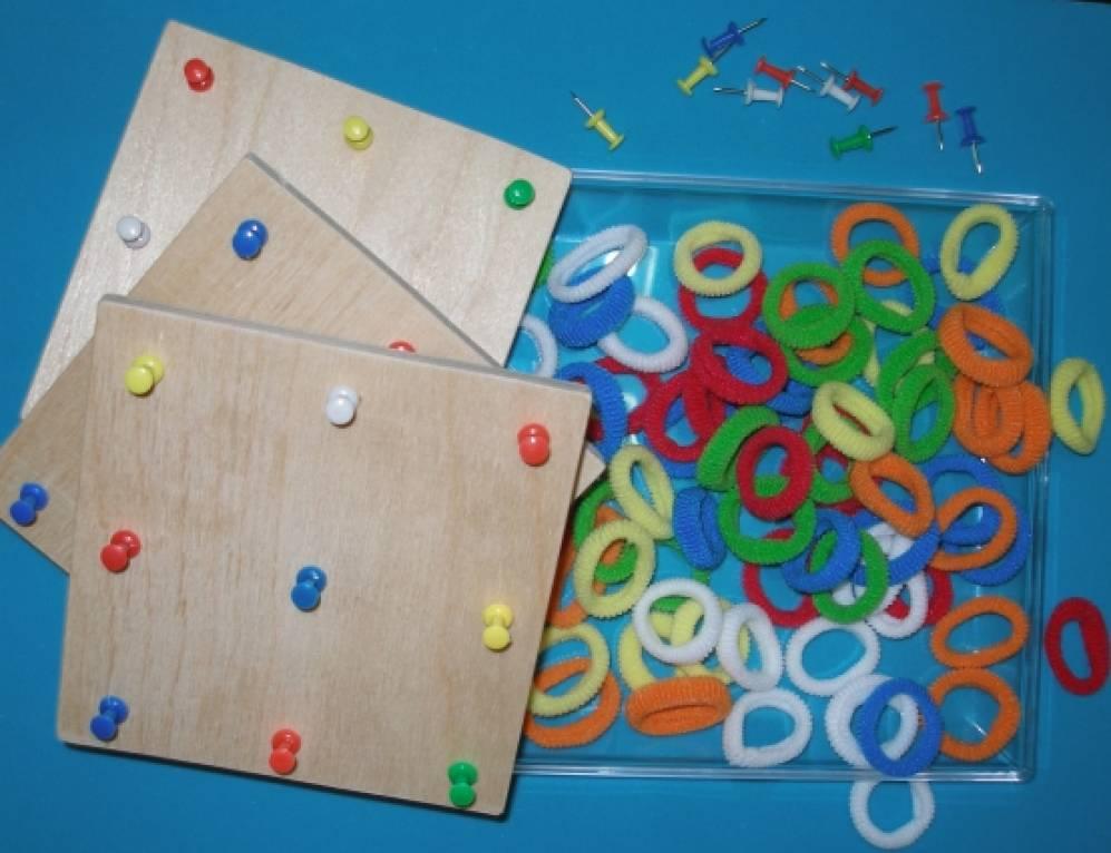 Развивающая игра своими руками для детей 3 лет