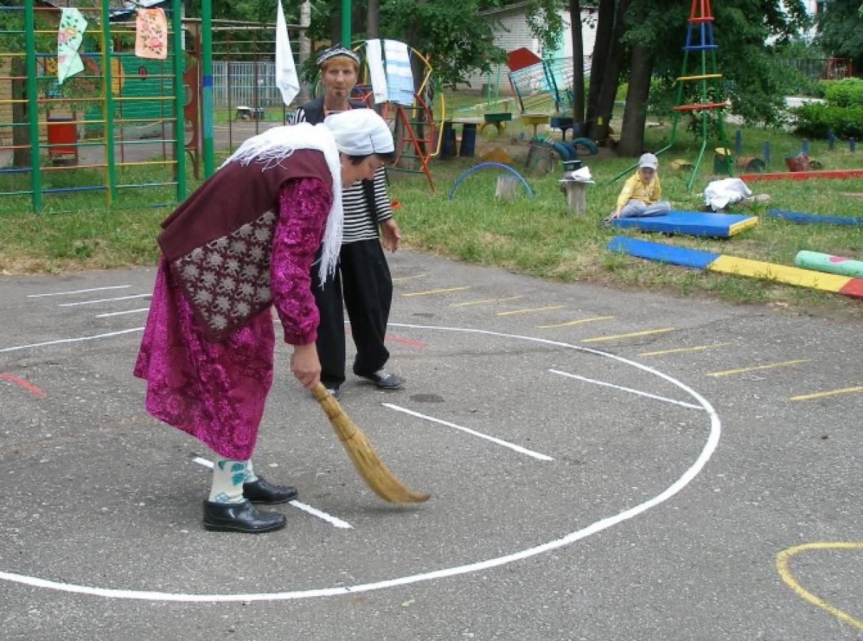 знакомство и подвижные игры