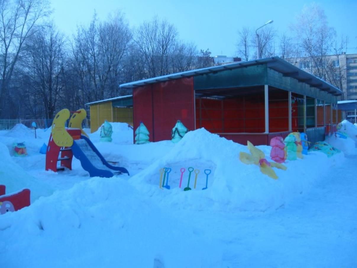 Идеи оформления зимних участков (фотоотчёт)