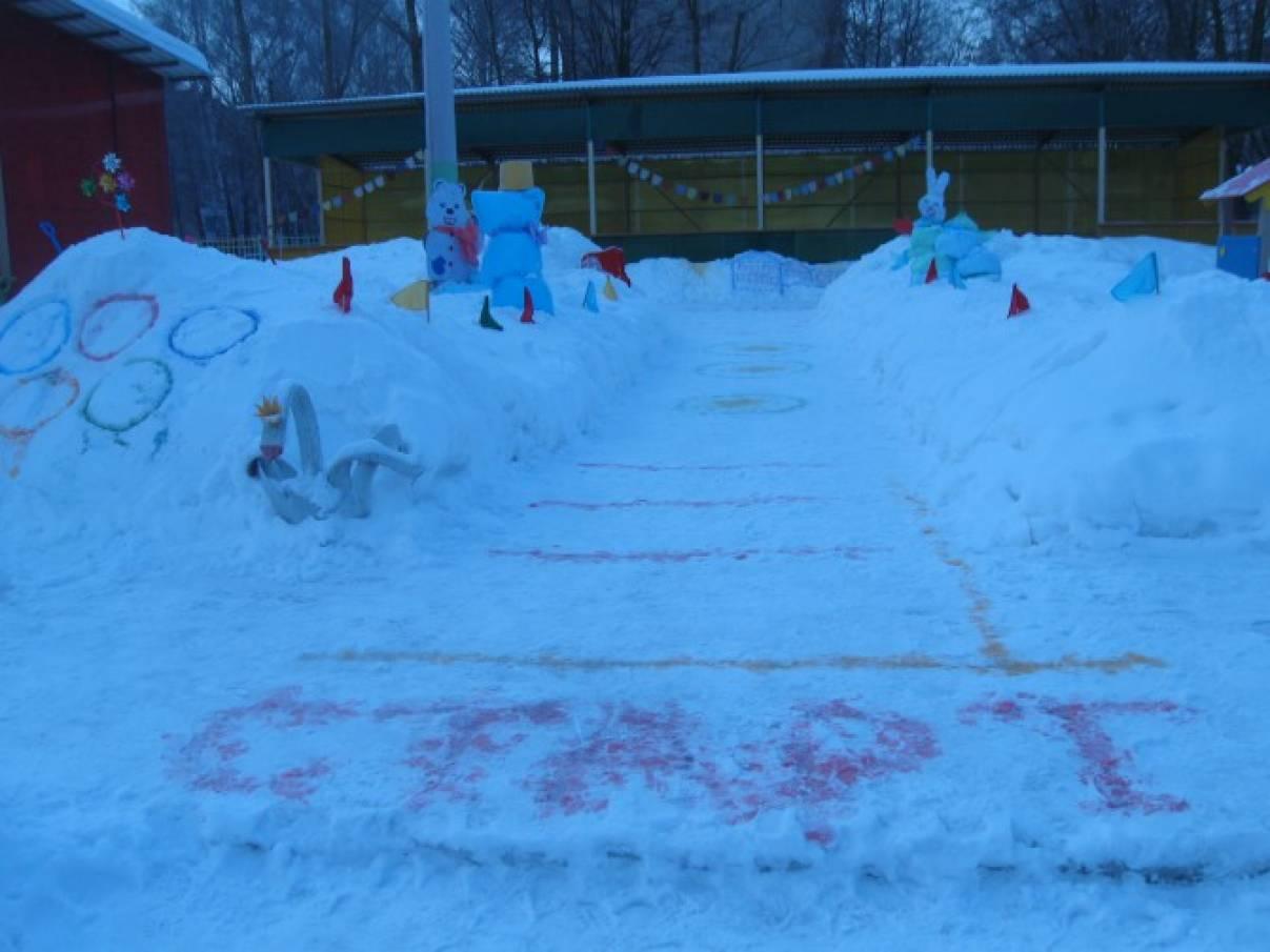Оформление участка зимой своими руками фото 7