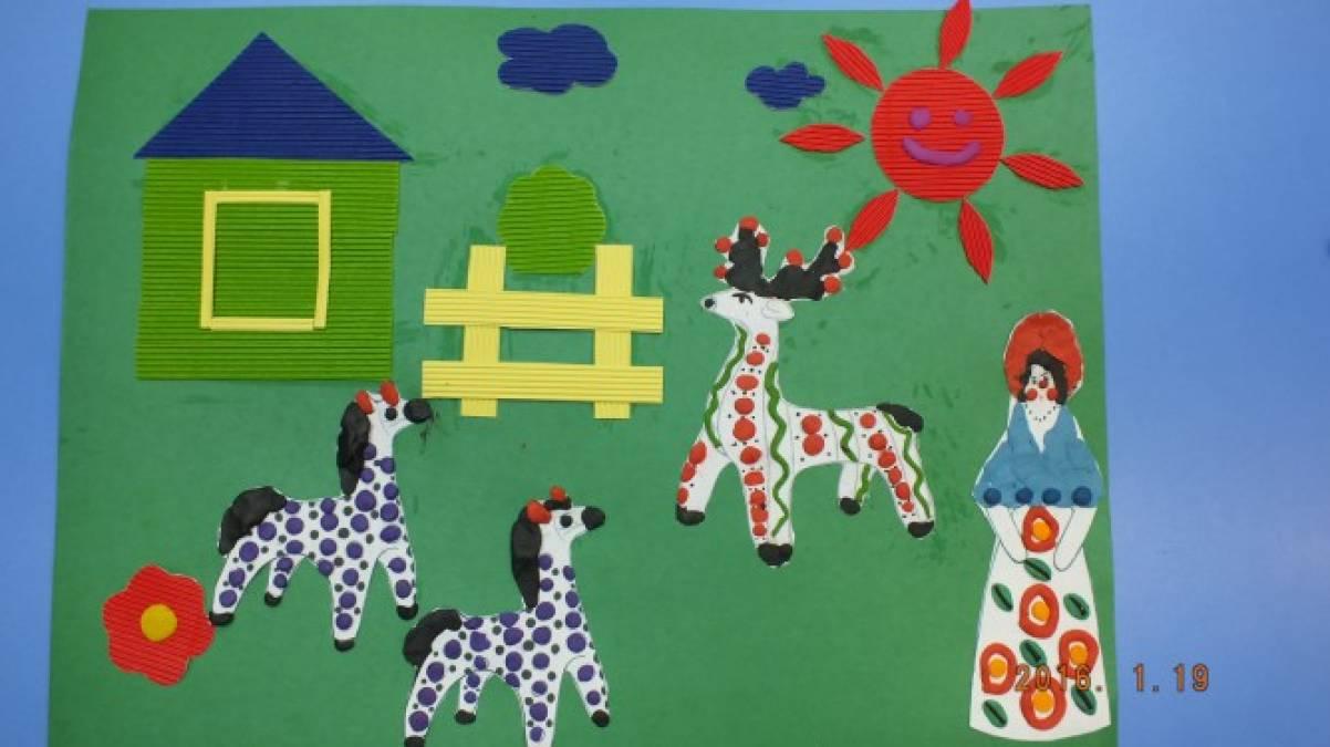 Город мастеров в детском саду картинки