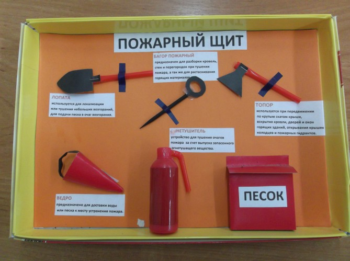 Поделки для пожарной безопасности для детского сада