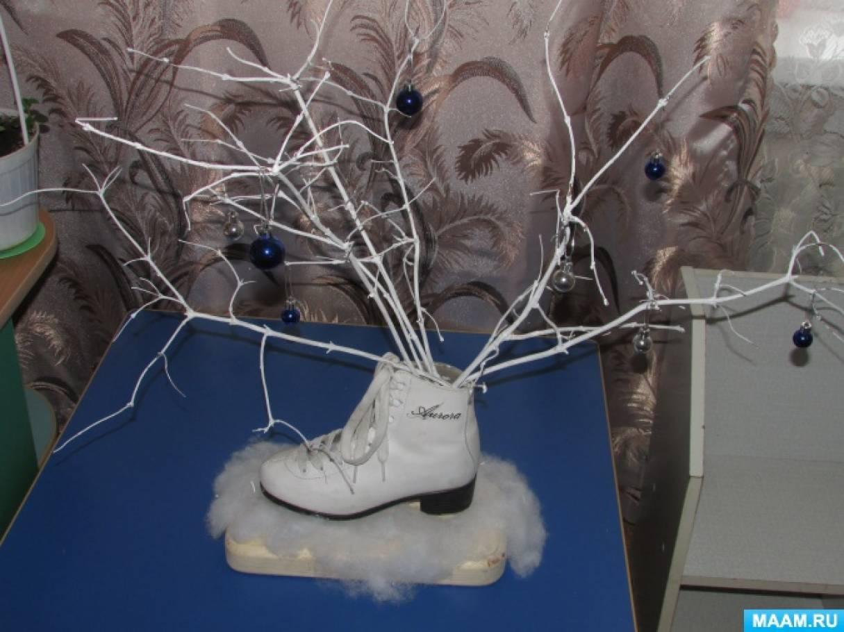 Мастер-класс «Украшение новогоднего конька»