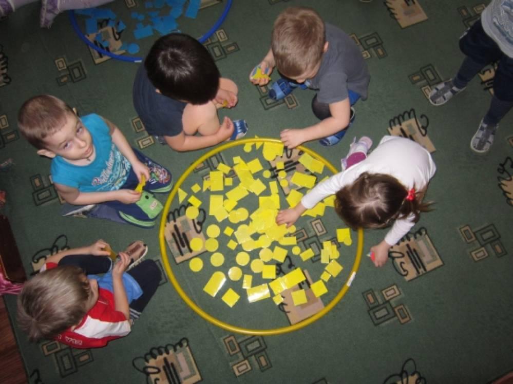 математика в младшей группе знакомство с цифрами