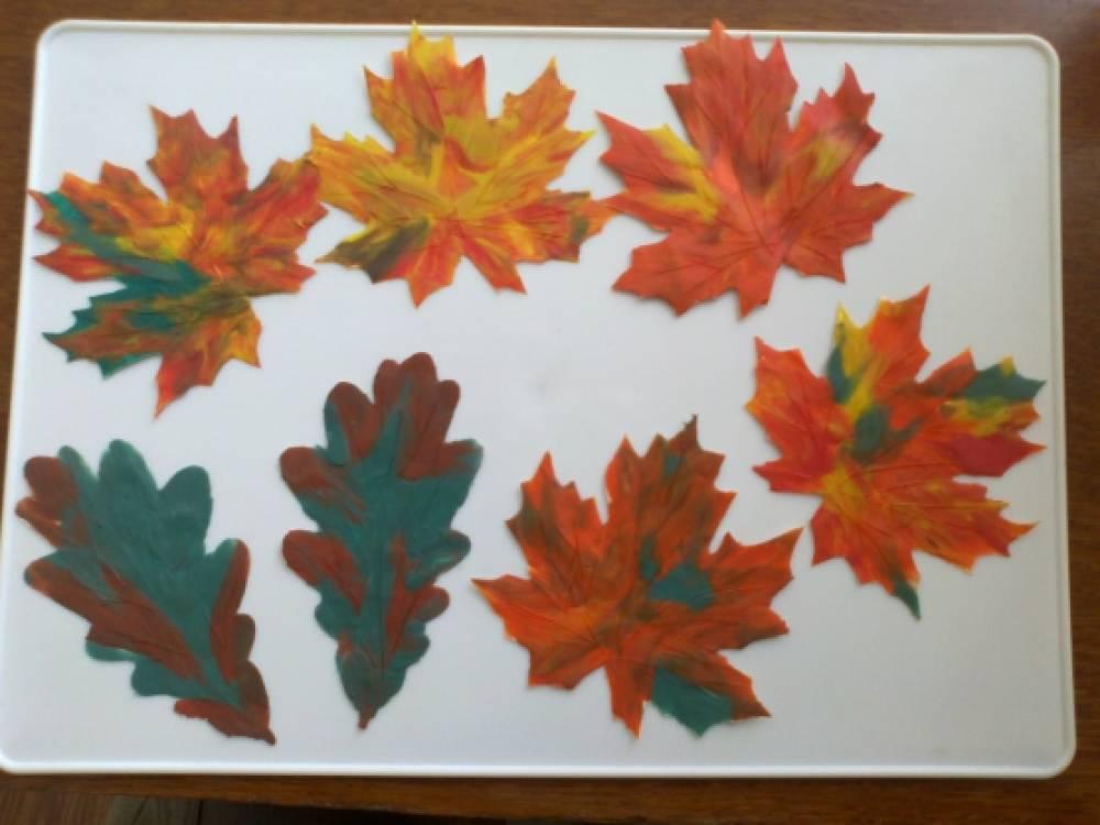 Осенние листья из пластилина. Поделки Pinterest Осенние 49