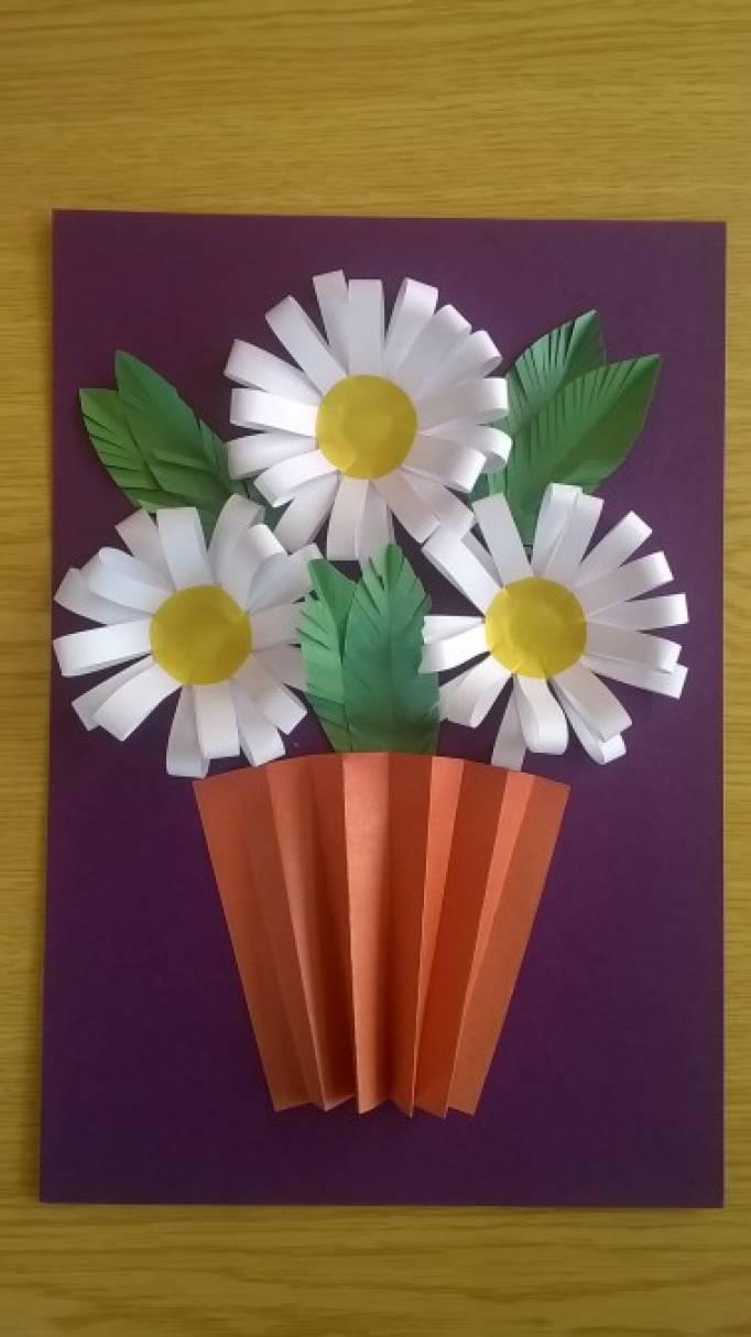 Мастер-класс открытка для мамы на 8 марта