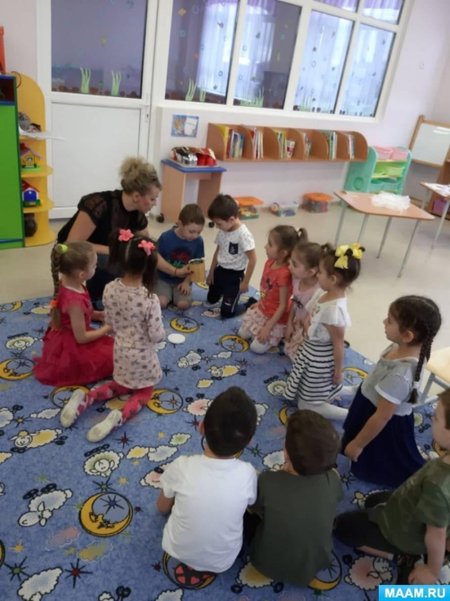 Открытая непрерывная образовательная деятельность в детском саду «Лаборатория воздуха»