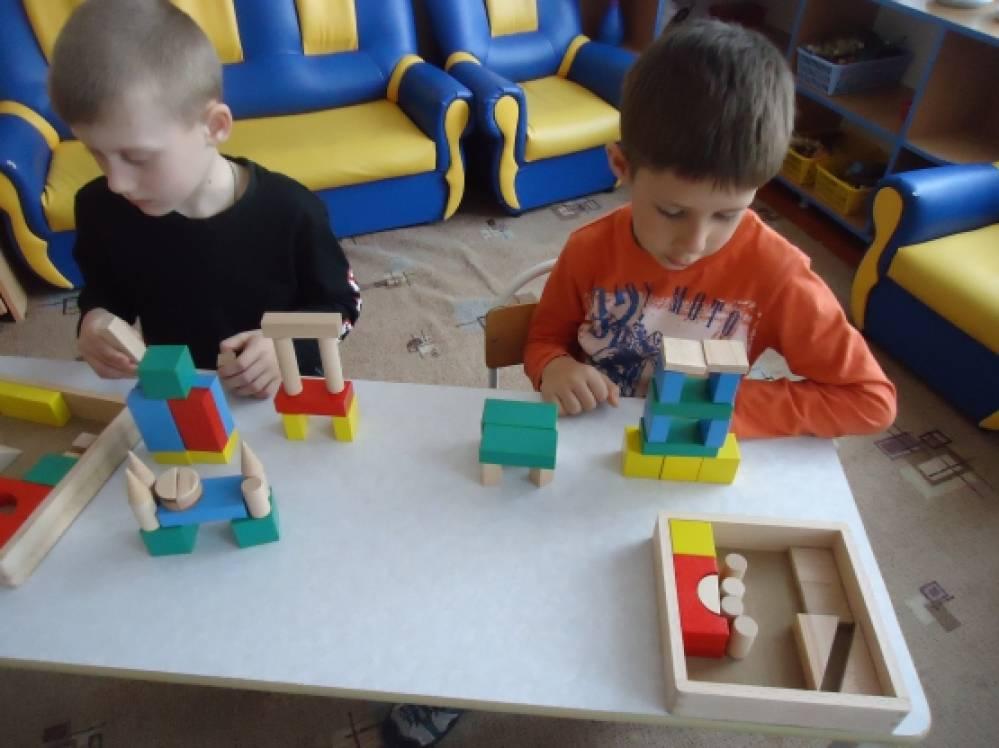 Картотека игр по конструированию из строительного