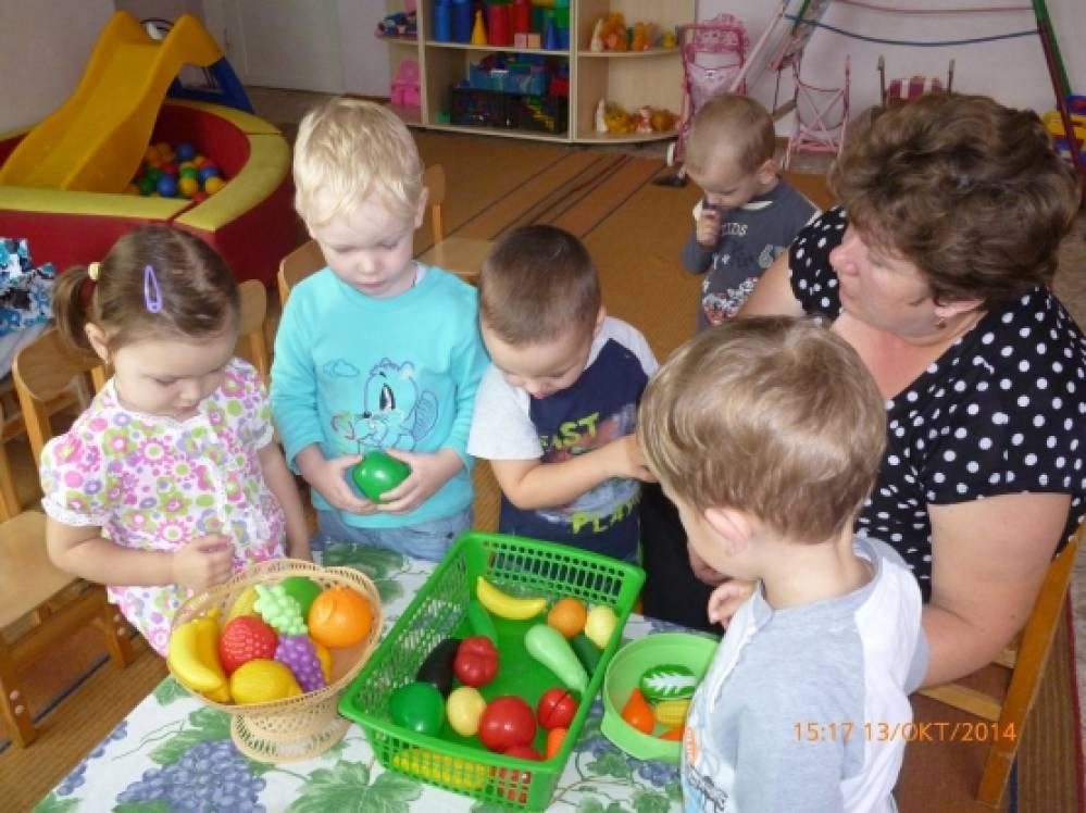 знакомство с овощами ранний возраст