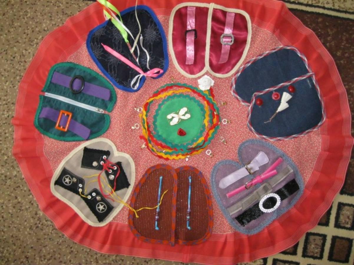Развивающие сенсорные коврики своими руками 32