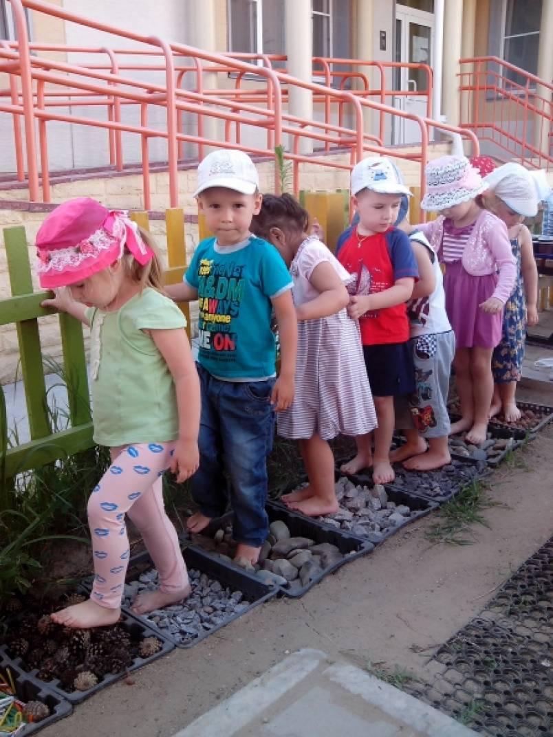 знакомство воспитателя с группой детского сада
