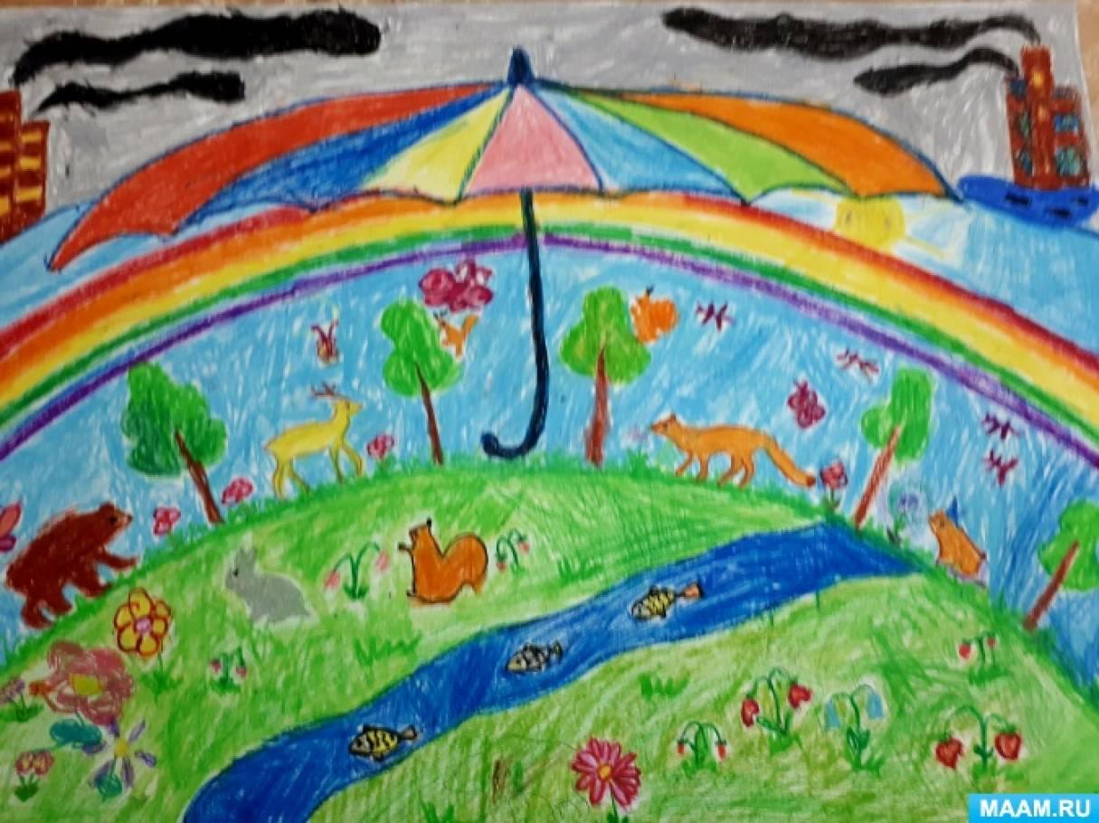Стенгазета по экологии «Надо природу беречь и любить»